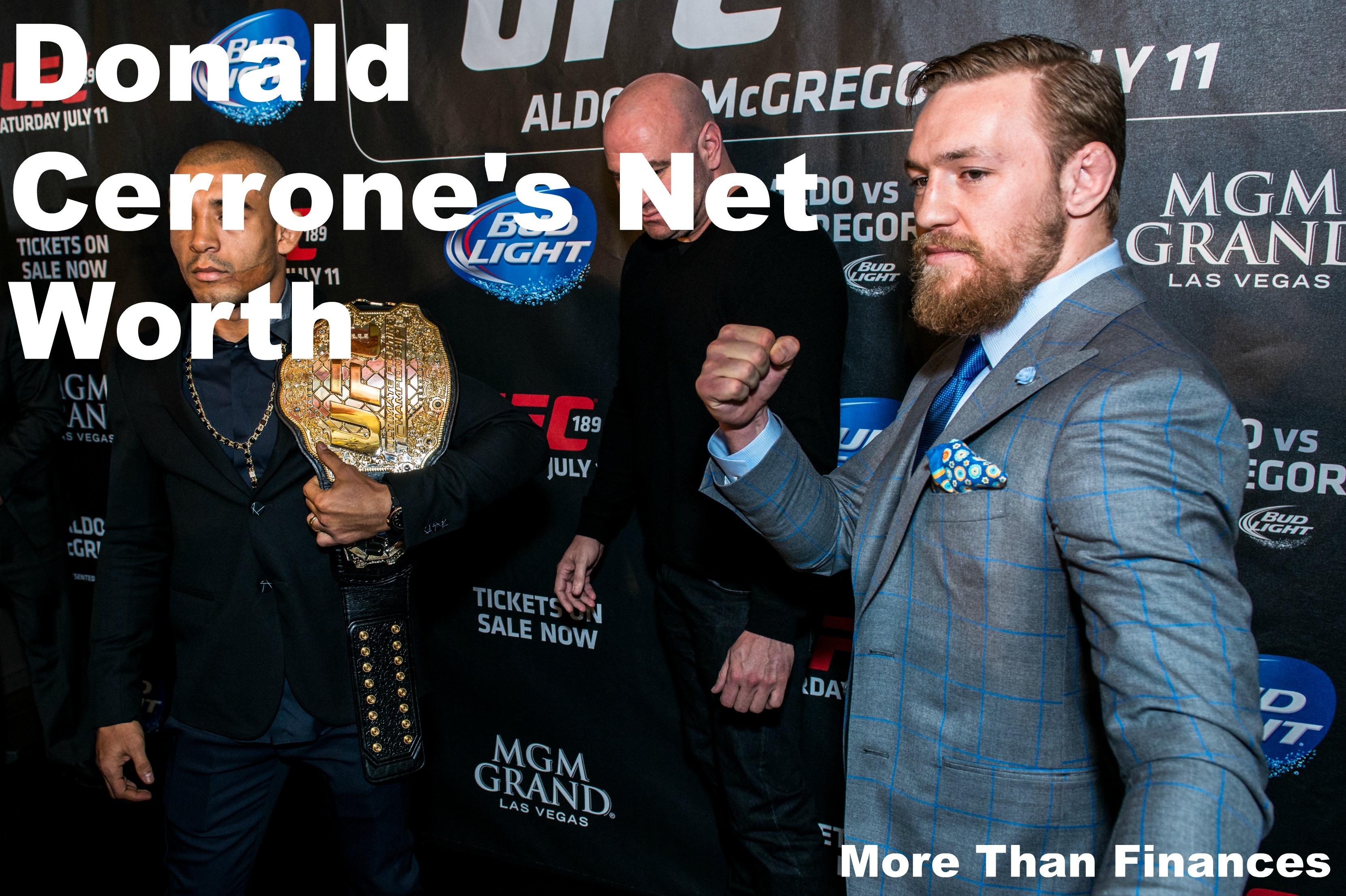 Donald Cerrone's Net Worth
