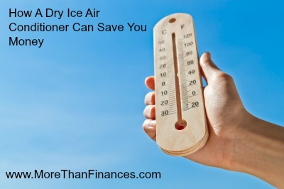 How A Dry Ice Air Conditioner Can Save You Money