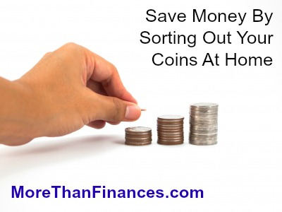 Save Money By Sorting Out Your Coins At Home